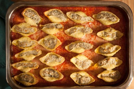 Conchiglie Ricotta & Olives